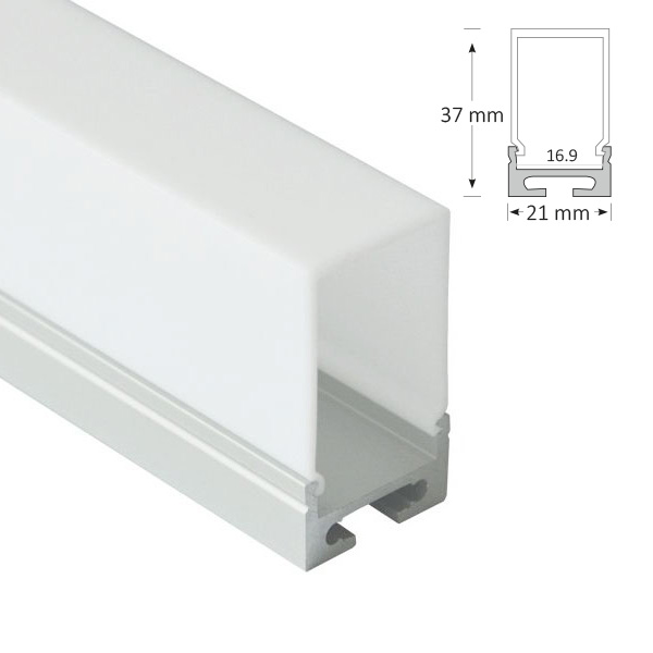 LED Pendant Extrusion, 058