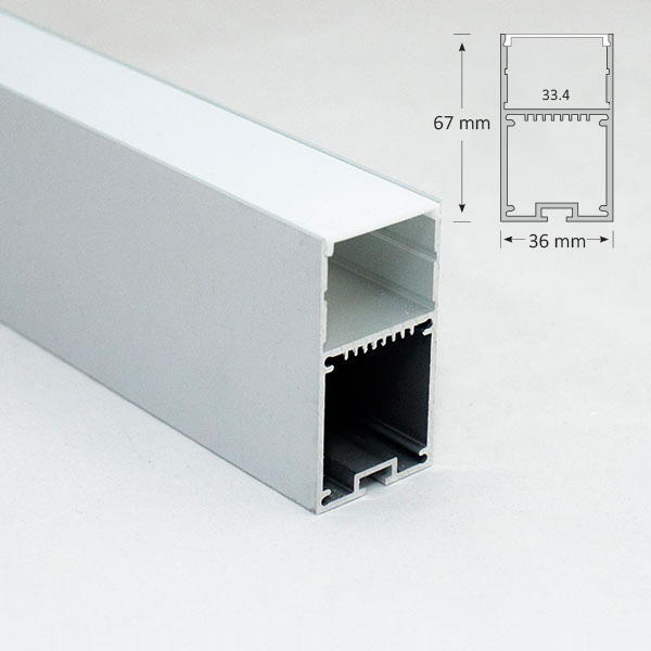 Suspended Rectangular Extrusion, 063