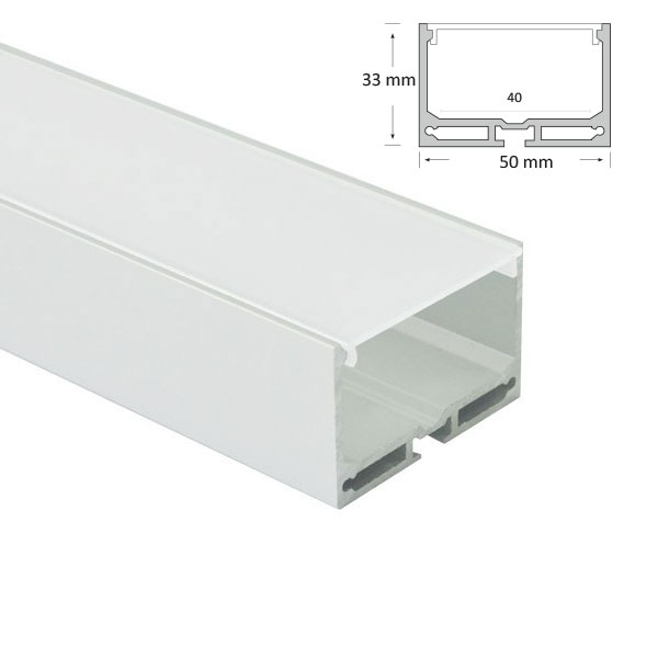 LED Suspended Extrusion, 051