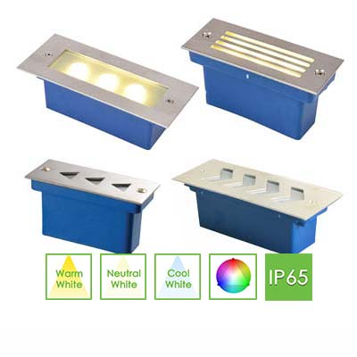 STEP5 Rectangular Step Light, 3W