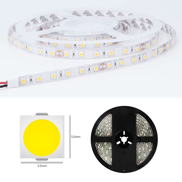 SMD5050 LED Strip Light, 14.4W/m, IP65