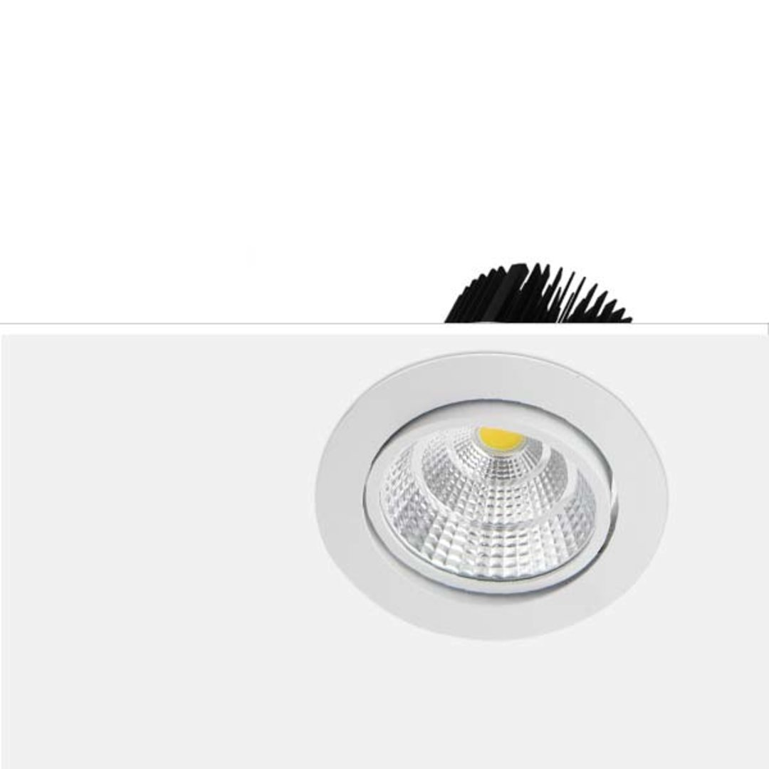 75mm cutout LED downlights