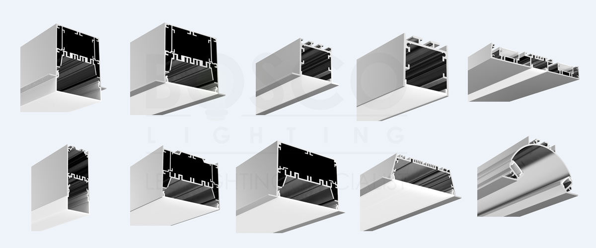 BoscoLighting Aluminum Extrusion Profiles