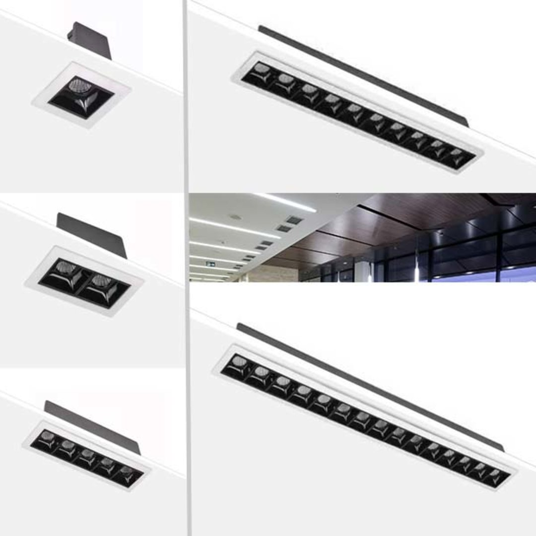 BoscoLighting Adds Tetris Linear Wall Washer Downlights