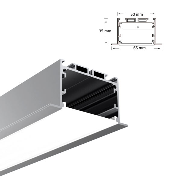 LED Recessed Extrusion, 073-R