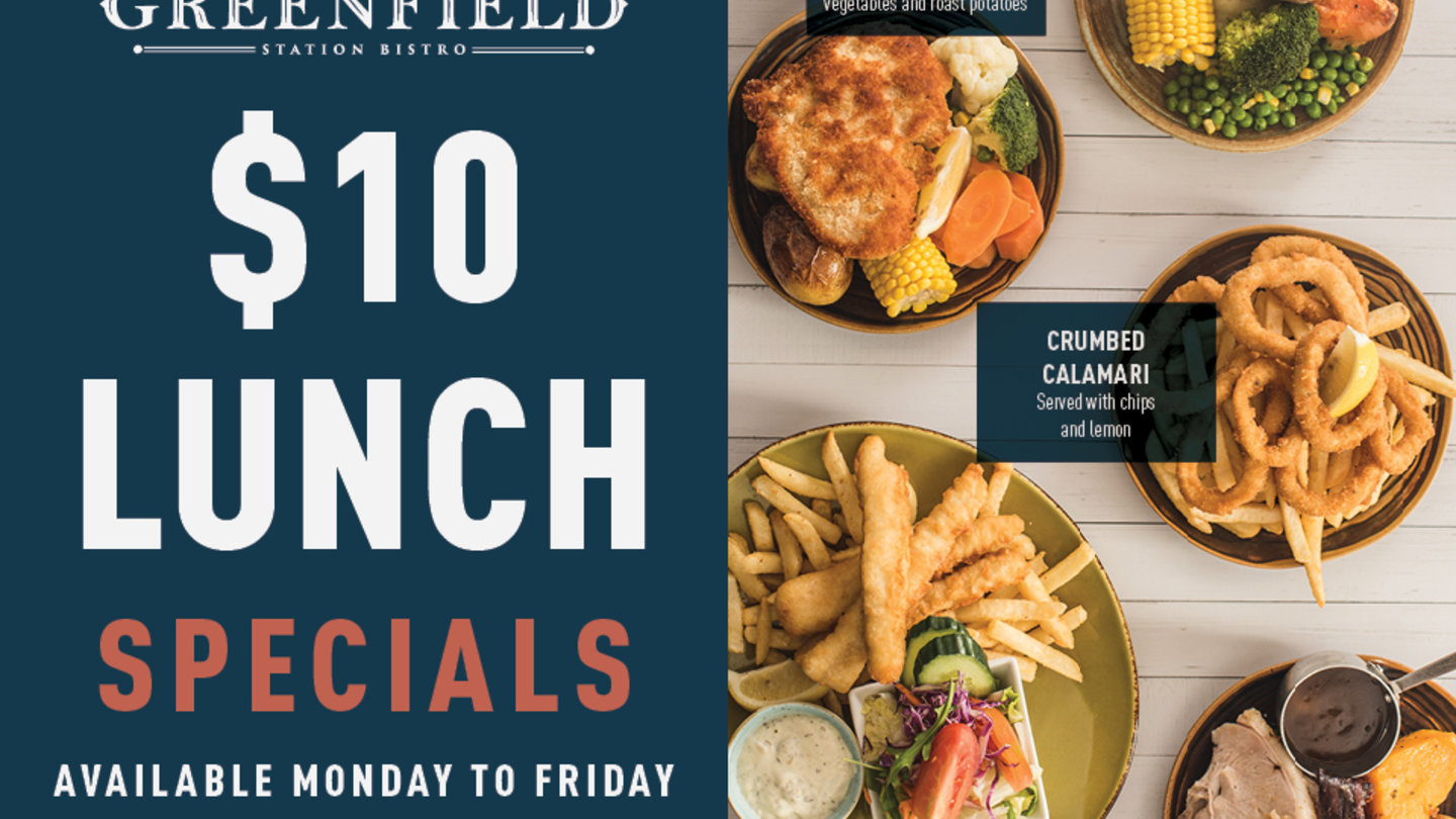 $10 LUNCH SPECIALS