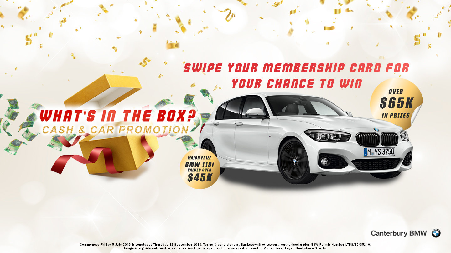 What's in the Box? Car and Cash Promotion