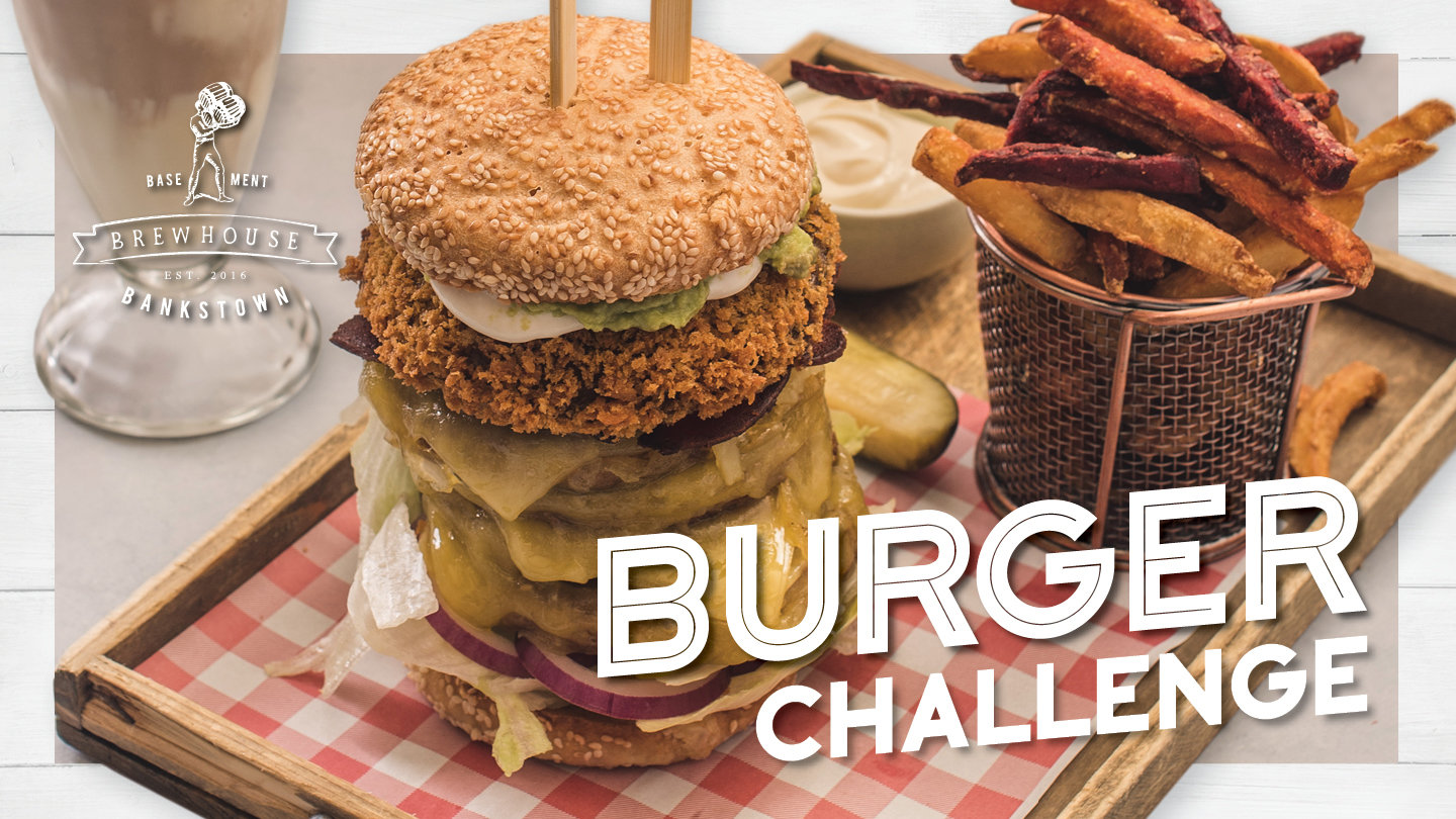 BREWHOUSE BURGER CHALLENGE