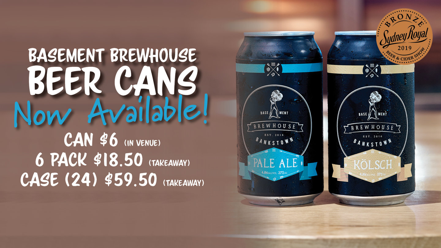 BREWHOUSE CANS