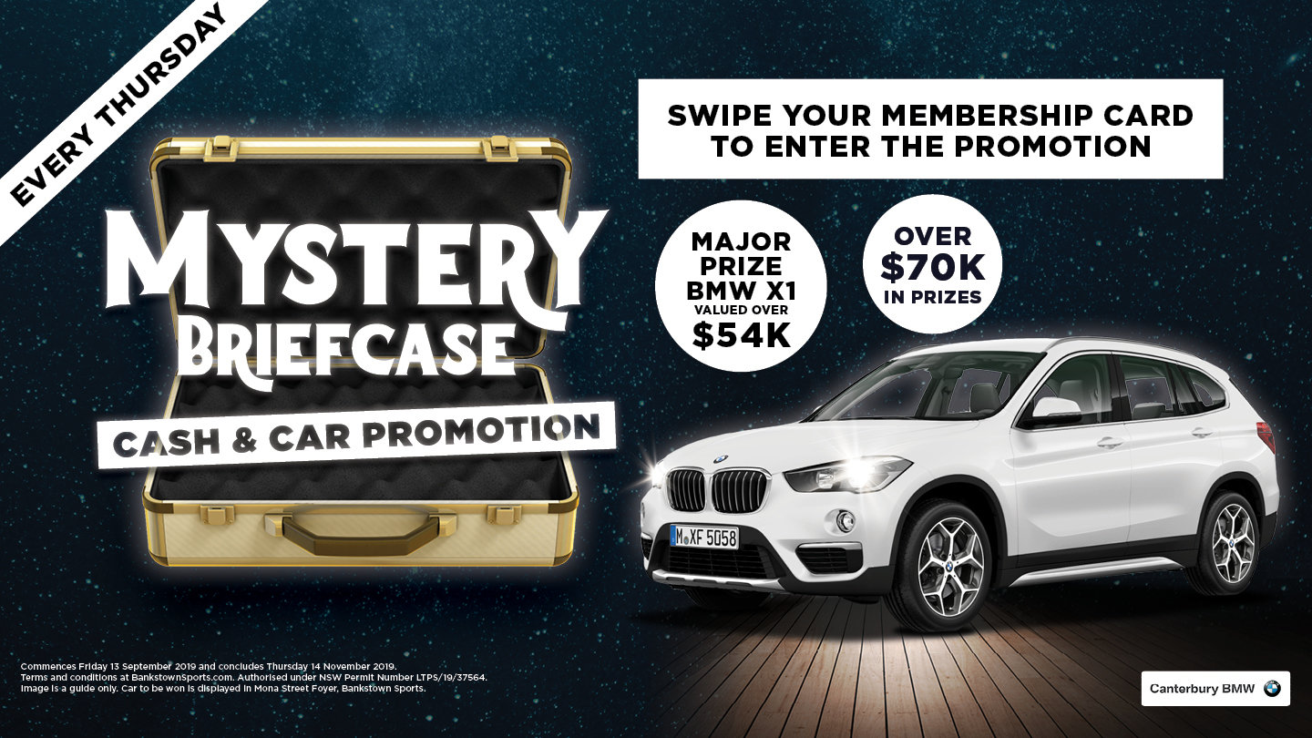 Mystery Briefcase Car and Cash Promotion