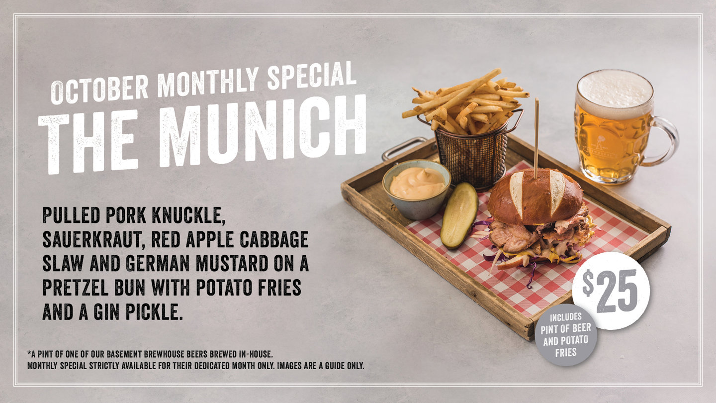 BREWHOUSE MONTHLY SPECIAL
