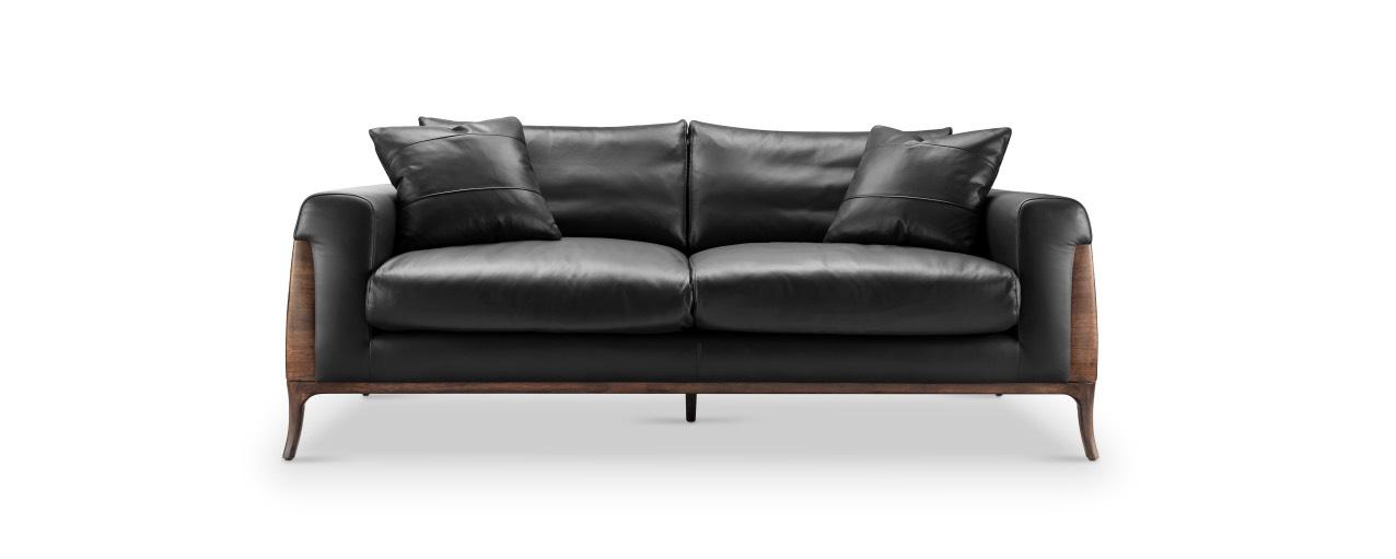 Coomo Black Sofa