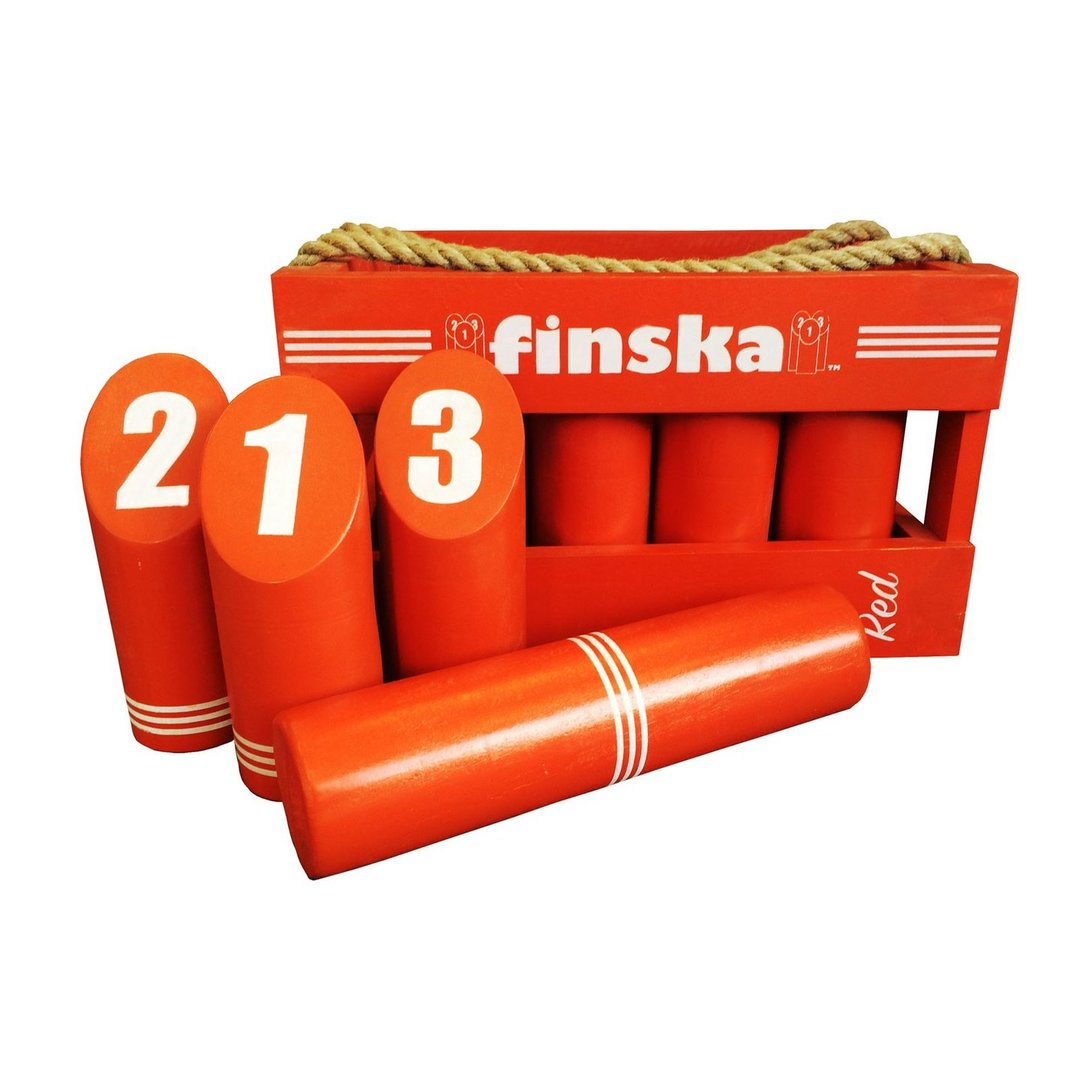 <p>Finska with a funky retro splash of red. Finska Retro is crafted from quality birchwood. The paint also has the added benefit of protecting the hardwood from drying out over time.</p>