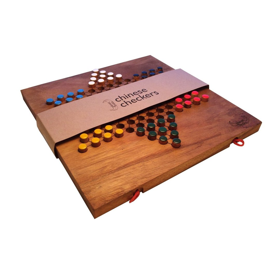 Our Games of Strategy range is for those who like to out think their opponent.  All are handcrafted from hardwood and great for all ages. Games of Strategy available include Chinese Checkers, Kalaha (aka Mancala), Ludo and Barricade.