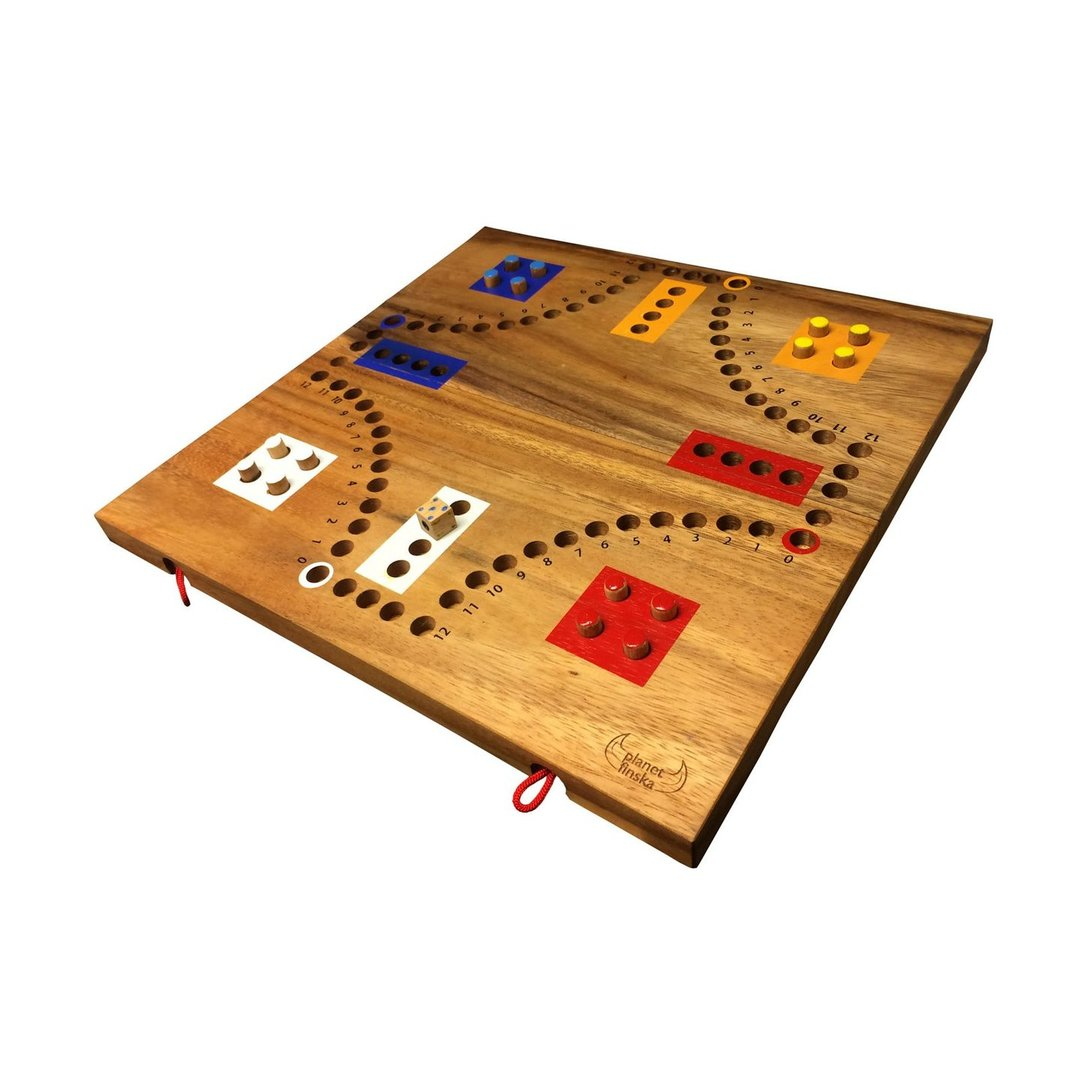 These classic family favourites are all beautifully crafted from hardwood.  Turn back the years with Cards, Chinese Checkers, Backgammon, Pick Up Sticks, Ludo, Marbles and our range of Dominoes.  These games have all stood the test of time and will continue to do so for generations to come.