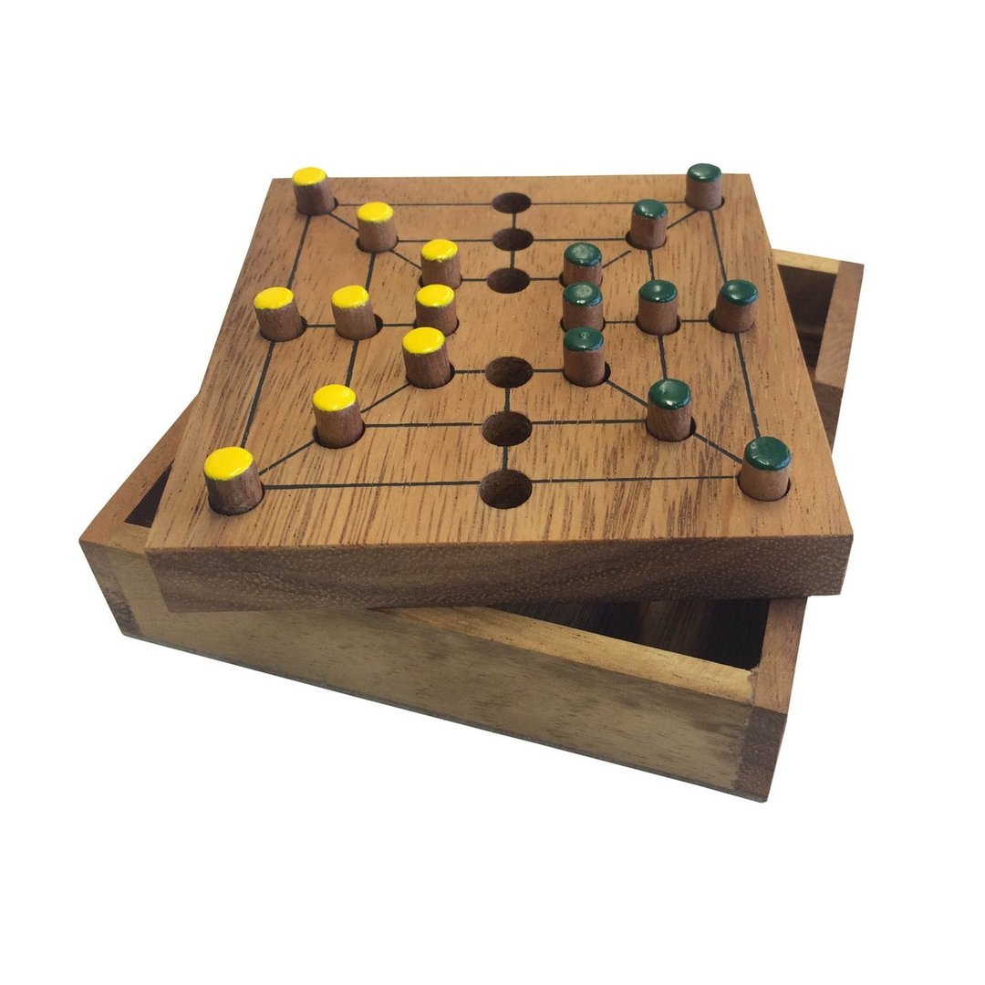 Our selection of classic table games are all crafted from eco-friendly hardwood. Includes family favourites like Chinese Checkers, Ludo, Tumble Tower, Pick Up Sticks and a selection of brain teasers, travel games and pub games.