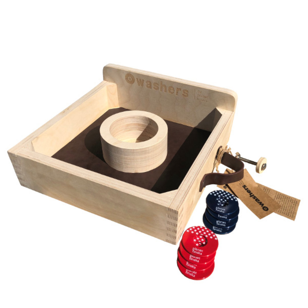 <p>Washers by Planet Finska is our designer take on this all American outdoor classic tossing game, great fun for all ages.</p><p> </p><p>-FREE DELIVERY AUSTRALIA WIDE-</p>