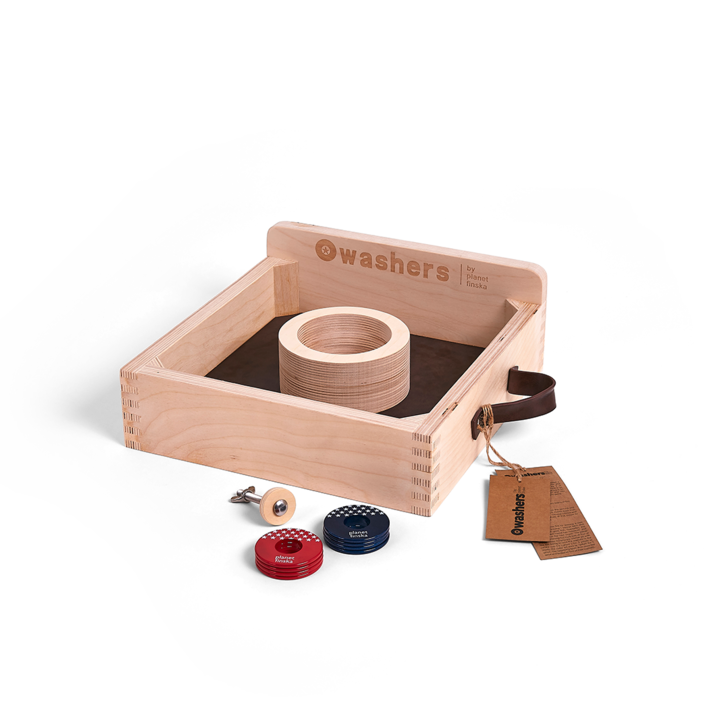 <p>Washers by Planet Finska is our designer take on this all American outdoor classic tossing game, great fun for all ages.</p><p><br></p><p>-FREE DELIVERY AUSTRALIA WIDE-</p>