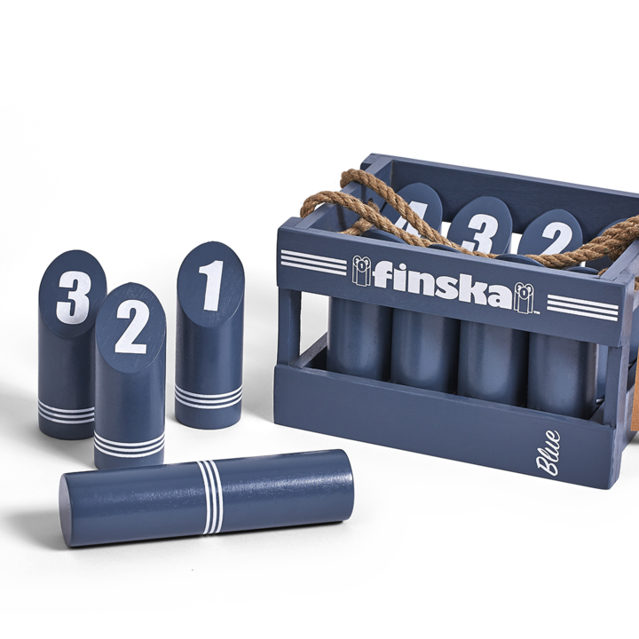 Finska with a funky retro splash of blue. Finska Retro is crafted from quality birchwood. The paint also has the added benefit of protecting the hardwood from drying out over time.� -FREE DELIVERY AUSTRALIA WIDE-