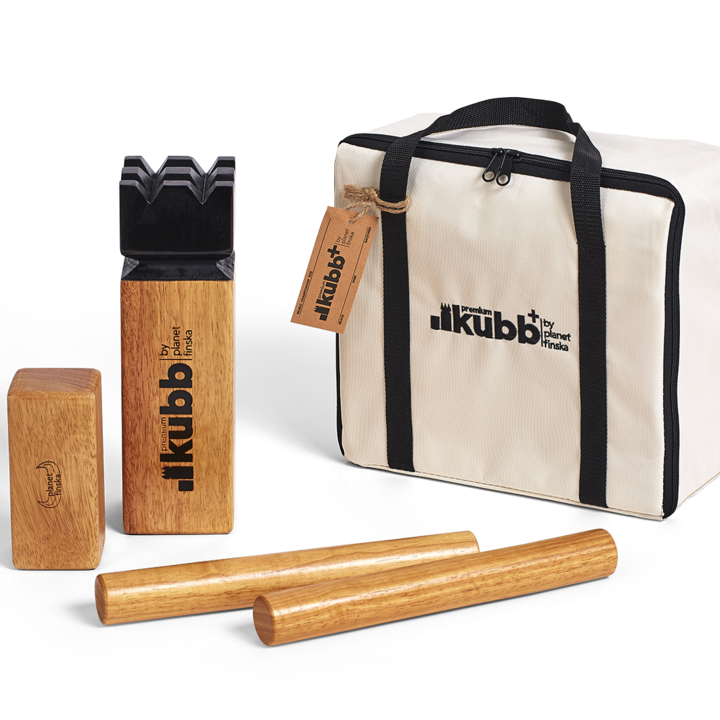 Kubb Premium Plus, is 30% larger than Kubb Premium and has chunkier Kubb World Championship sized playing pieces.� -FREE DELIVERY AUSTRALIA WIDE-