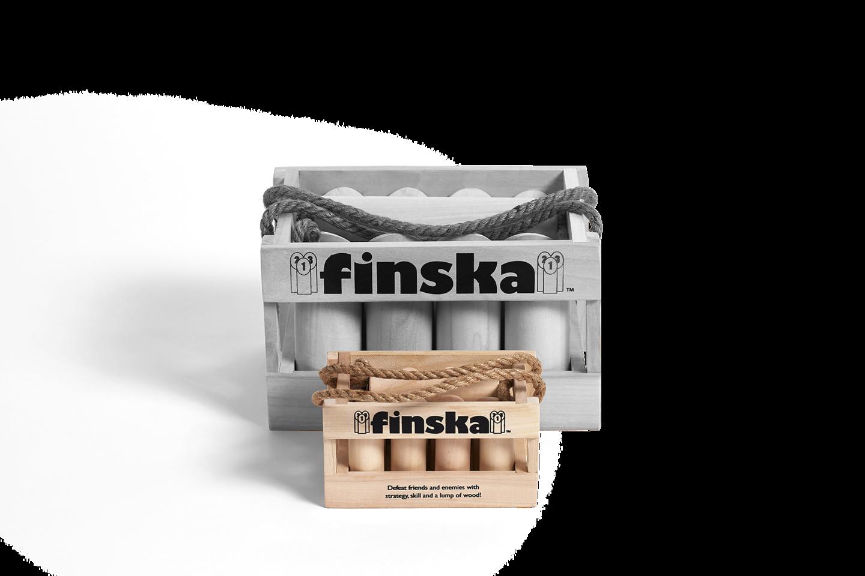 Finska Mini is Planet Finska's mini version of Finska that can be played indoors.