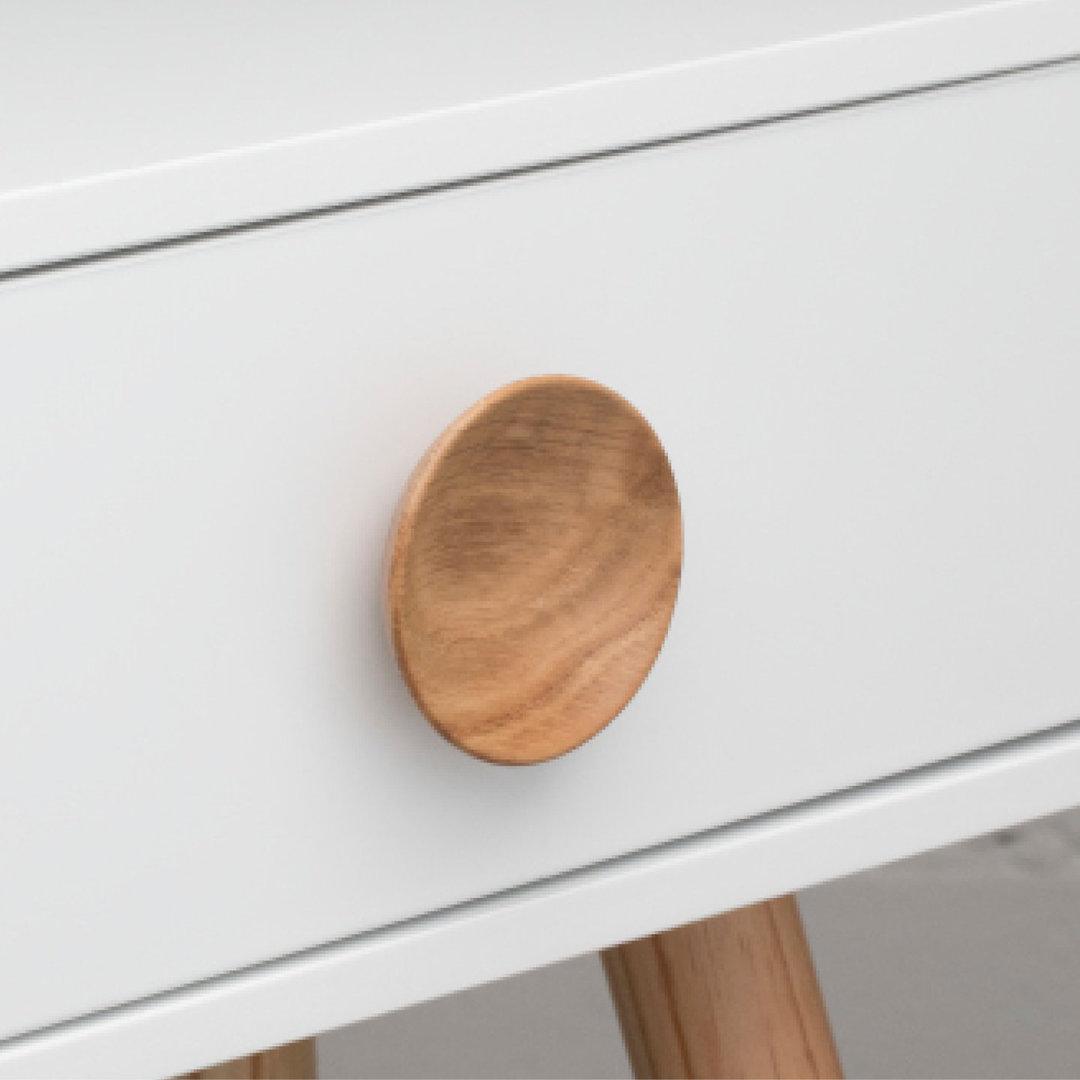 L4328 Bowl Knob Oak