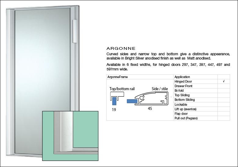 Aluminium Door Argonne