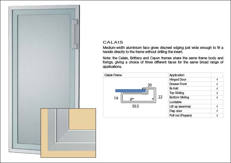 Calais Aluminium Door