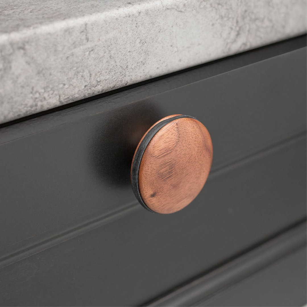 Walnut L4313 Orbit Knob 64mm