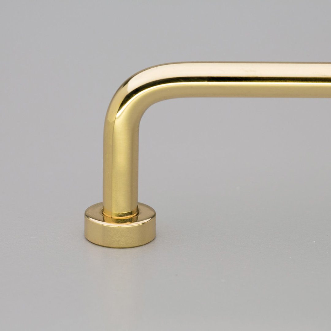 Kitchen Lounge Handle Polished Brass Gloss L795