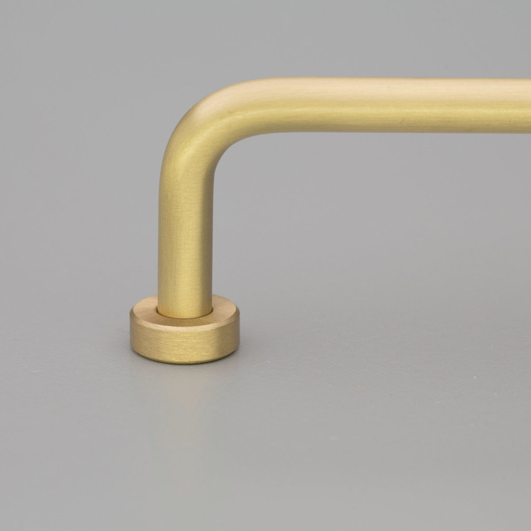 Kitchen Lounge Handle Solid Brass Matt L795