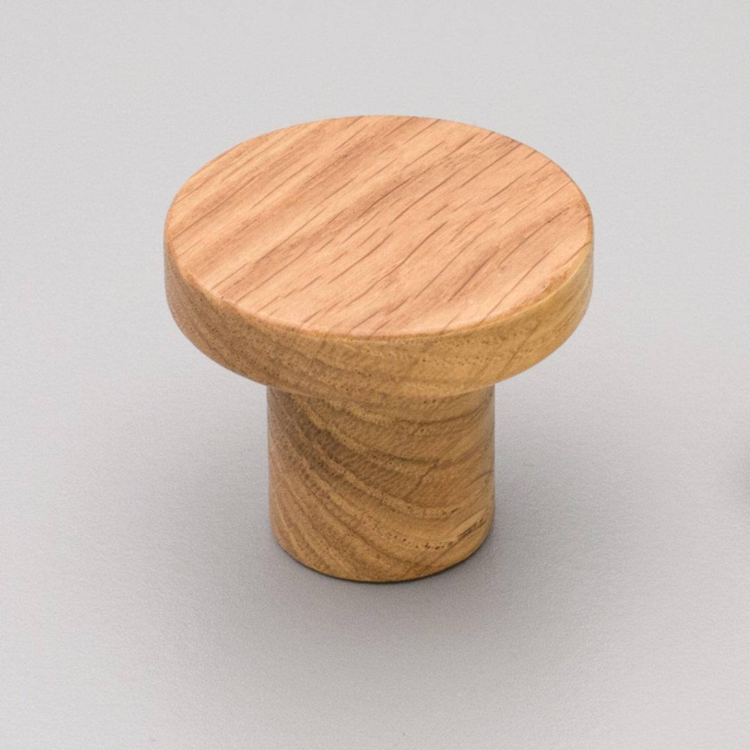 Kitchen Timber Trige Knob Oak 48mm L4317