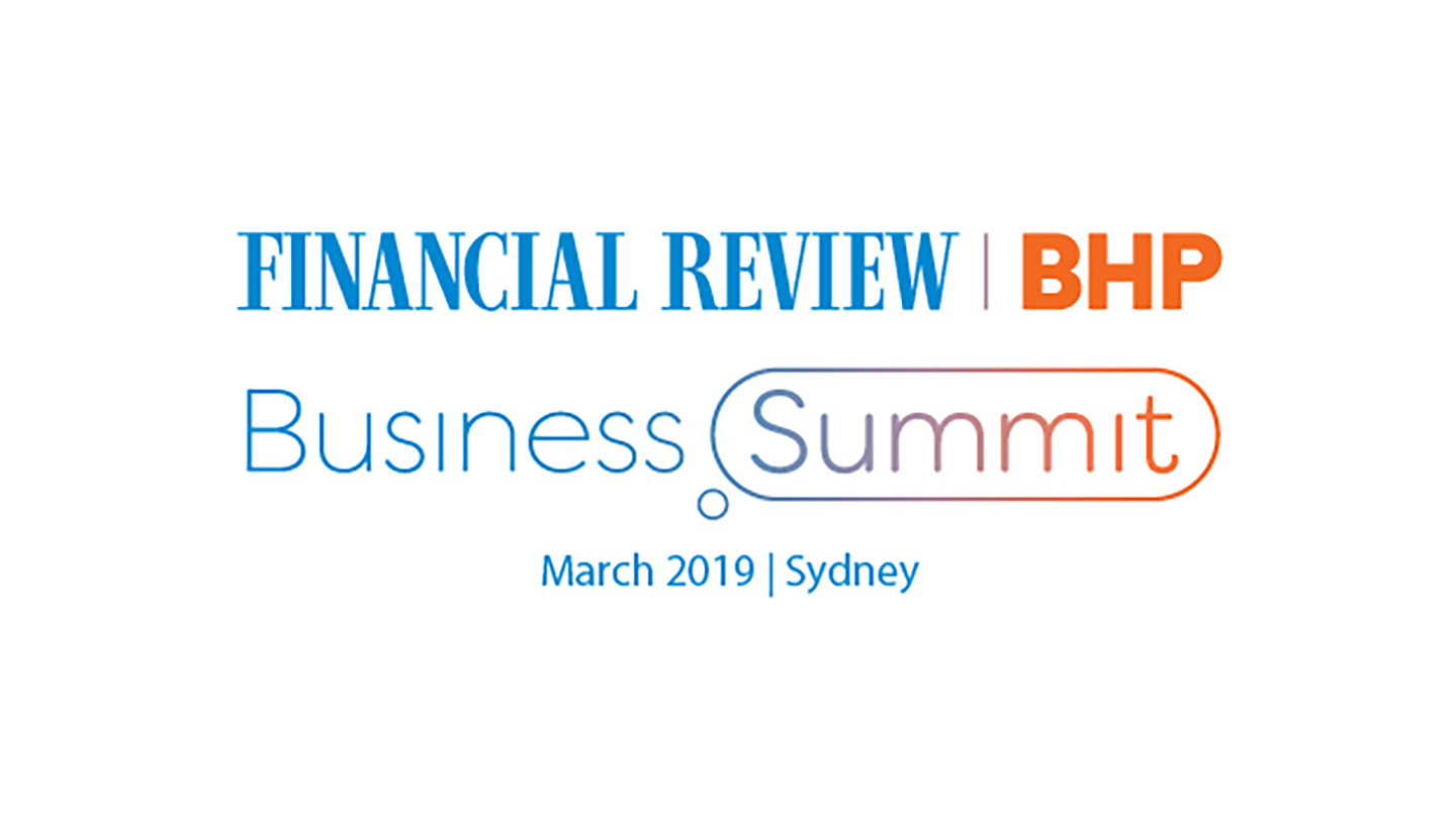 News | AFR Summit 2019