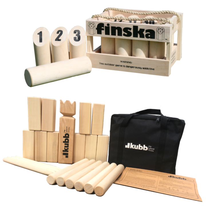<p>Save $15.00 when you bundle original Finska with original Kubb.</p><p>&nbsp;</p><p>FREE DELIVERY AUSTRALIA WIDE</p>