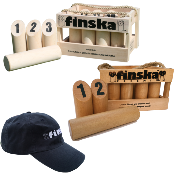 Save $25.00 when you bundle Original Finska, Finska Preemio and a Finska Cap.  FREE Shipping Australia Wide.
