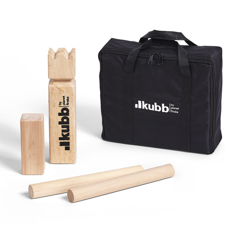 Our original Kubb is crafted from premium birch and comes in a durable black carry bag.� FREE DELIVERY AUSTRALIA WIDE