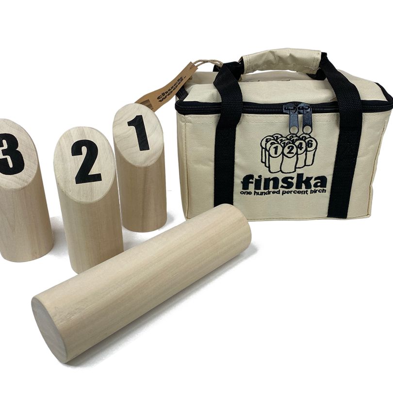 Our original Finska crafted from natural unfinished birch in a durable zip up carry bag.� FREE DELIVERY AUSTRALIA WIDE