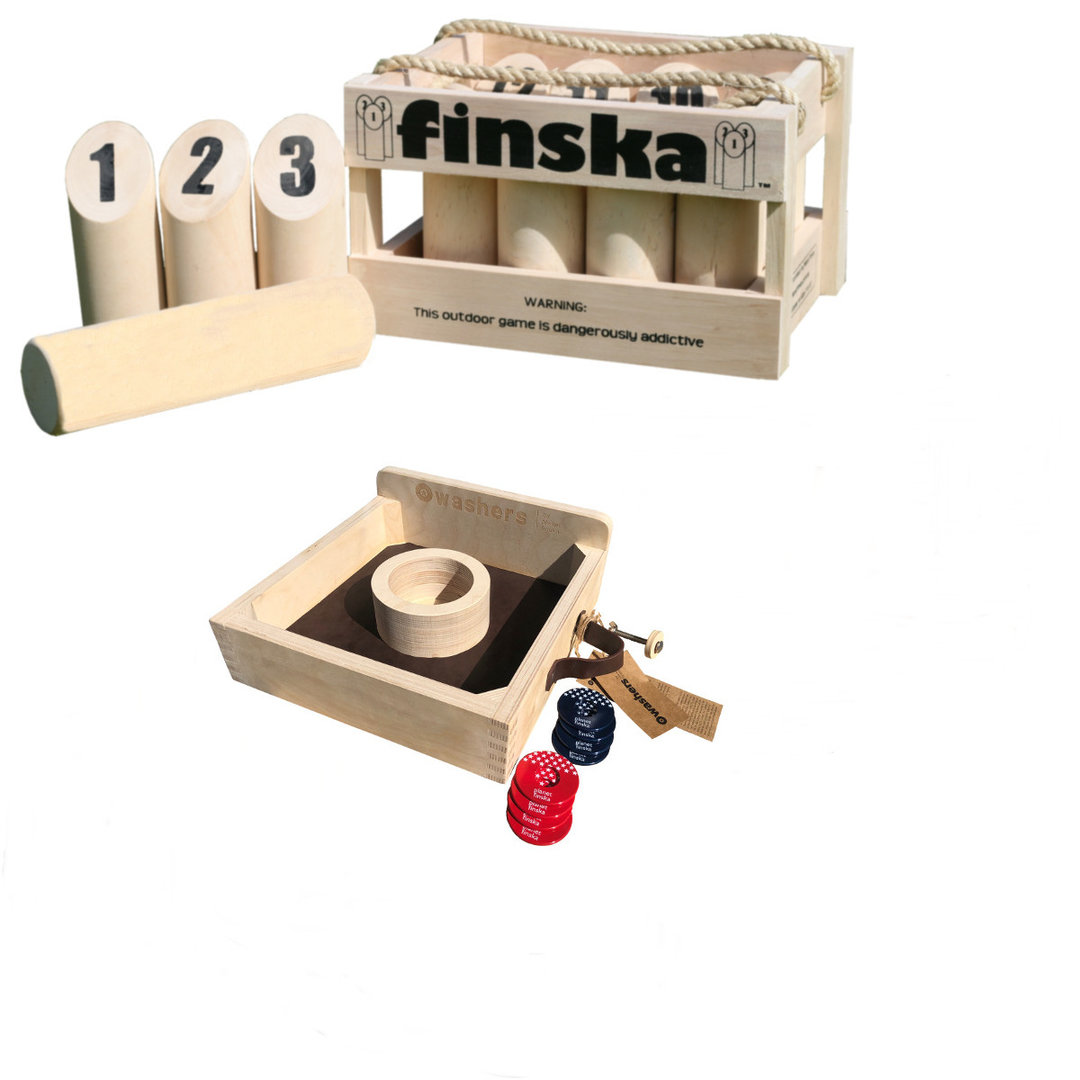 Save $60.00 when you bundle Original Finska and the Washers.FREE DELIVERY AUSTRALIA WIDE