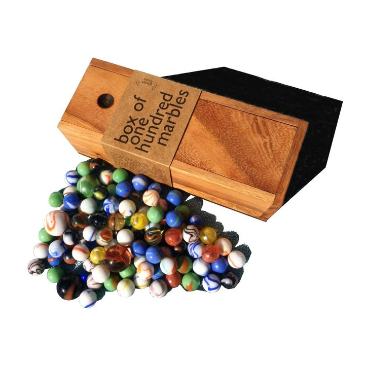 These classic hardwood games of skill will test your steady hand and patience.  Old time classics like marbles, tumble tower and pick up sticks will provide fun for young and old and are a great social alternative to electronic games.