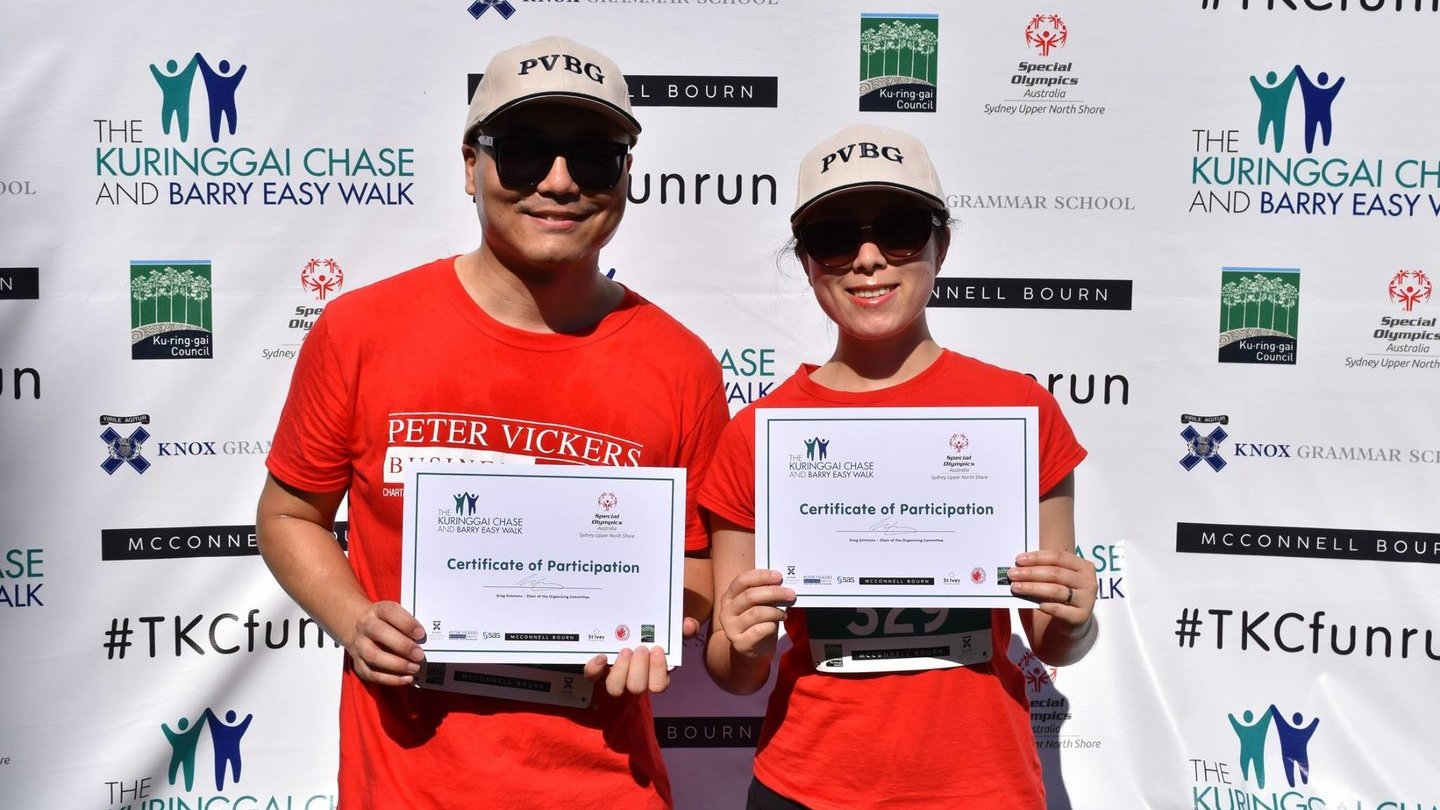 Peter Vickers Business Group was proud to participate and sponsor the Kuringgai Chase Fun Run and Barry Easy Walk 2018 which took place on Sunday 18 March at Wahroonga.