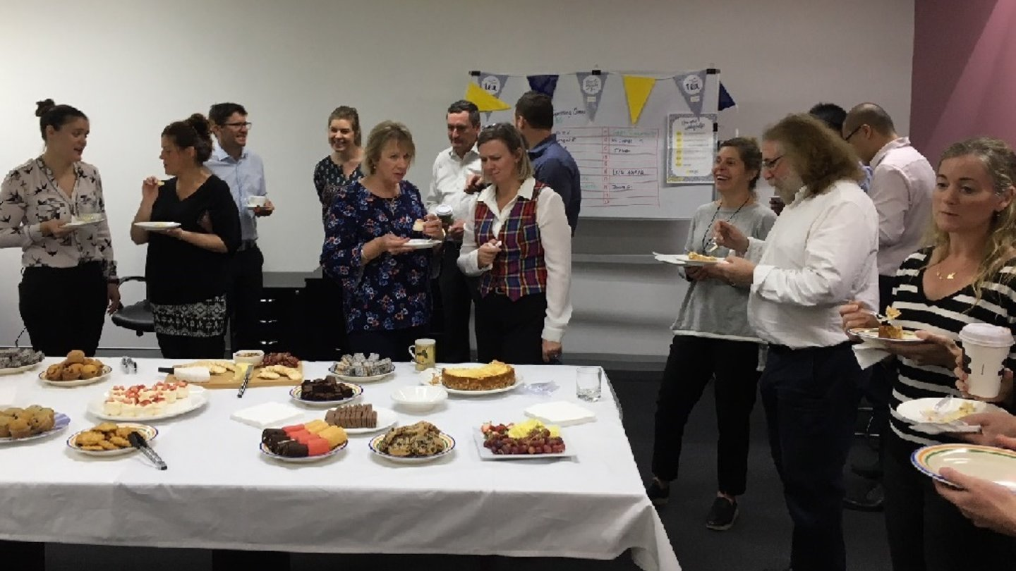 Peter Vickers Business Group took part in the 2018 Biggest Morning Tea which is run by the Cancer Council Australia.