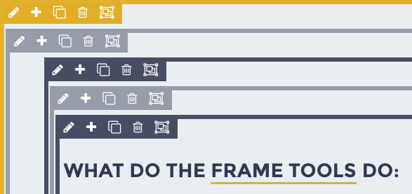Frame Tools