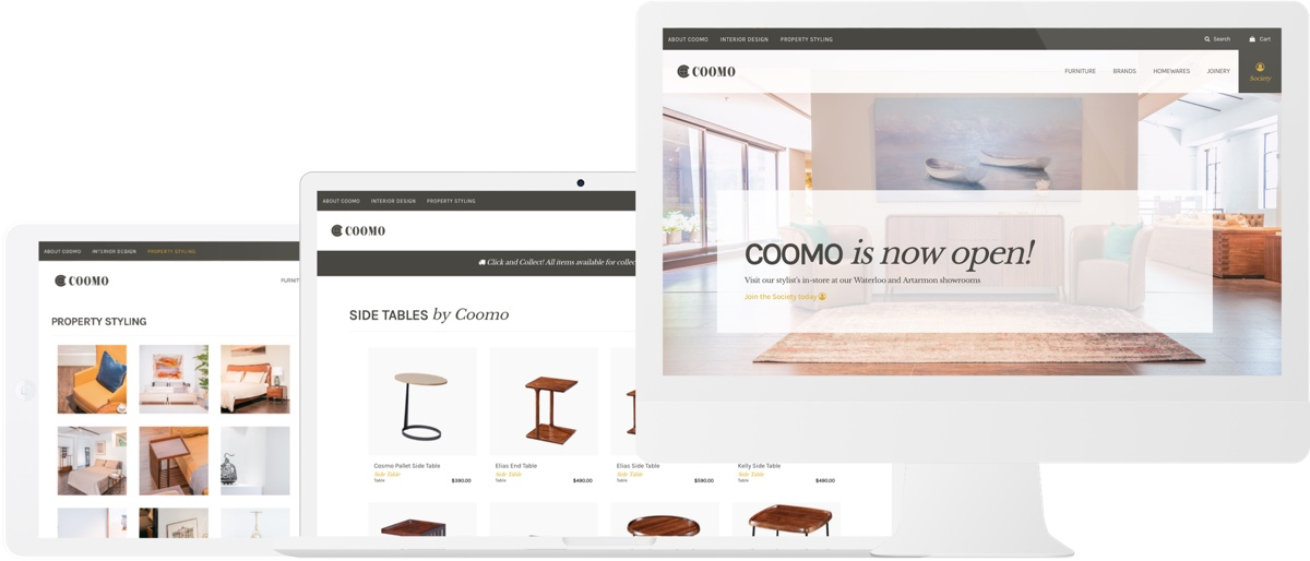 Commo Ecommerce Design Devices