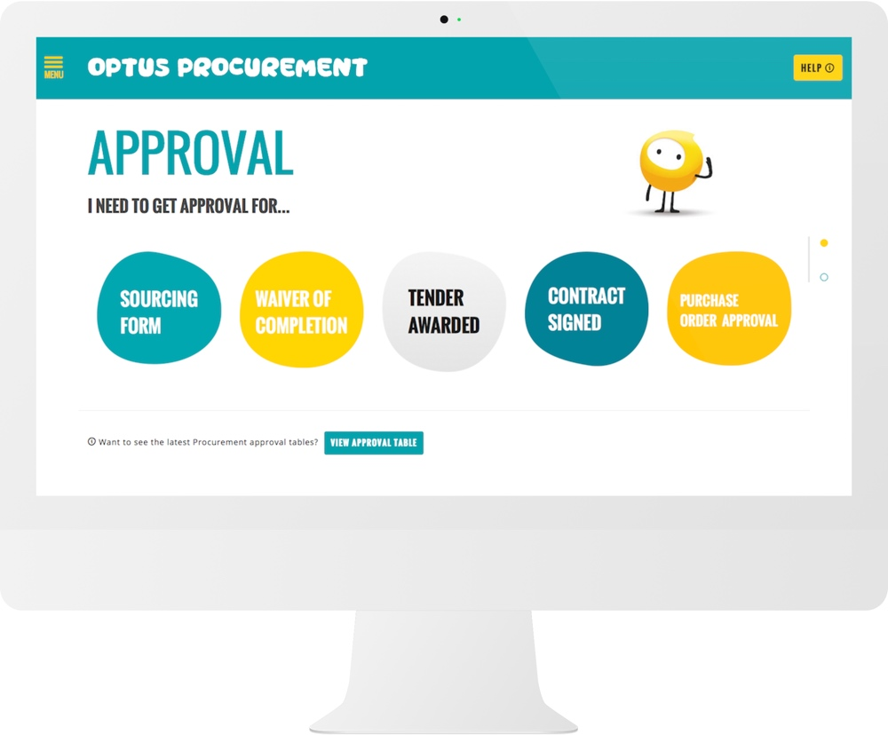 Optus Information Architecture