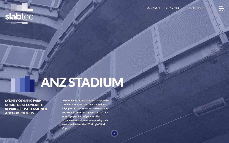 Slabtec ANZ Stadium