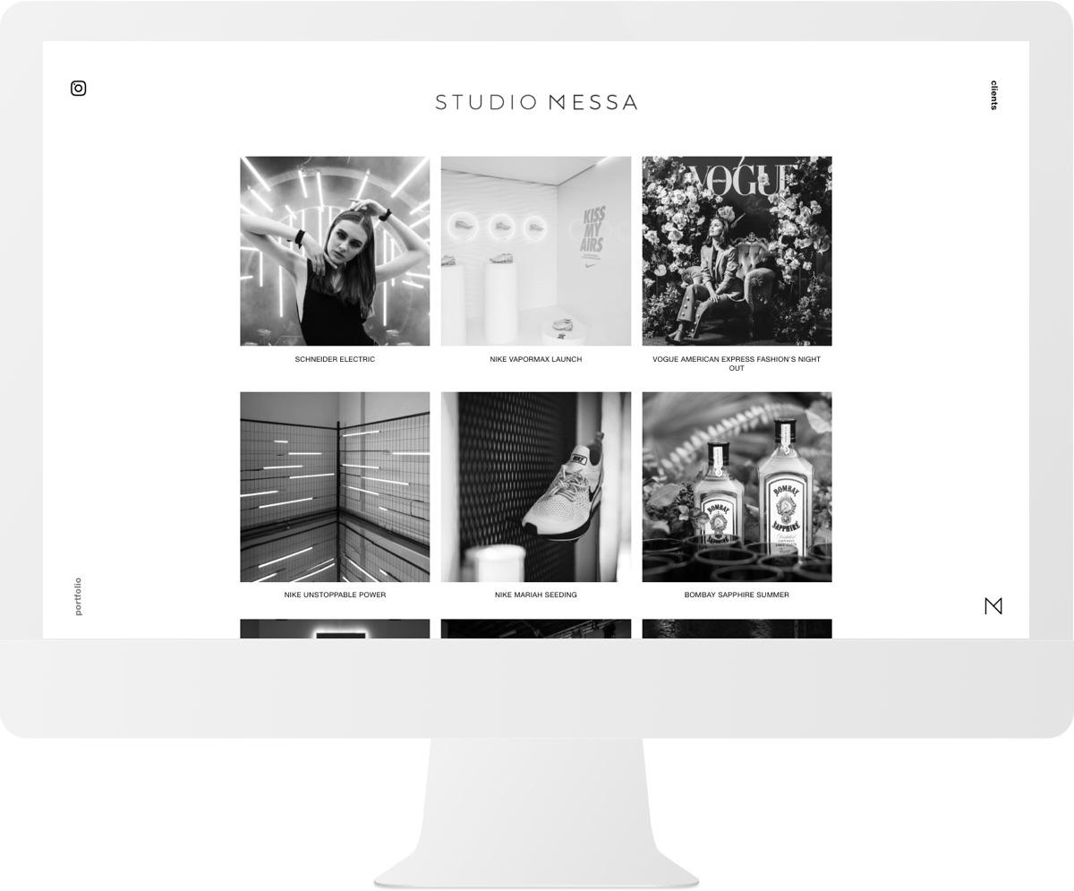 Studio Messa iMac