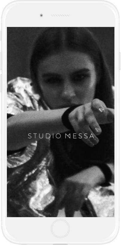 Studio Messa Website Design