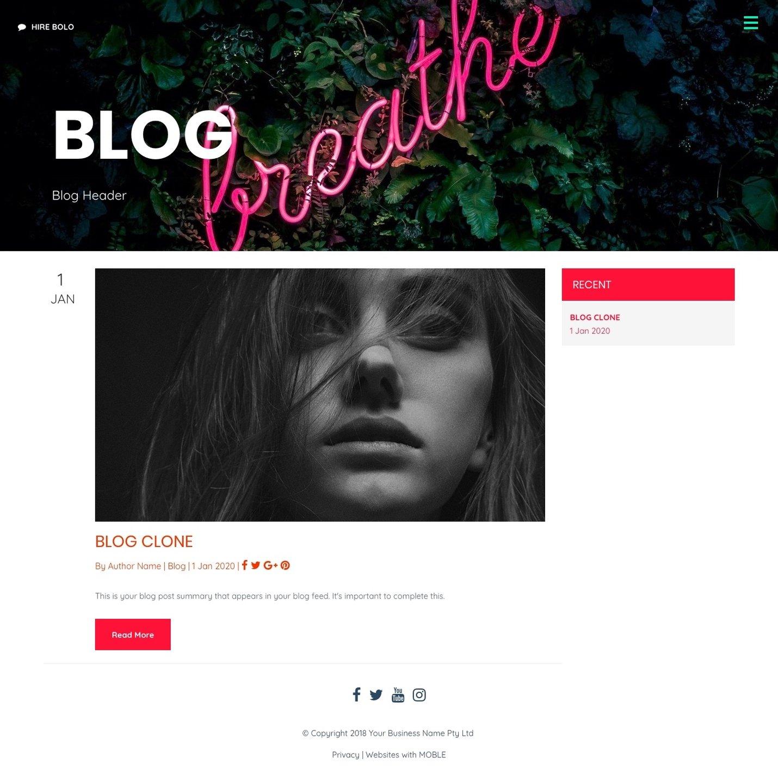 Bolo Blog