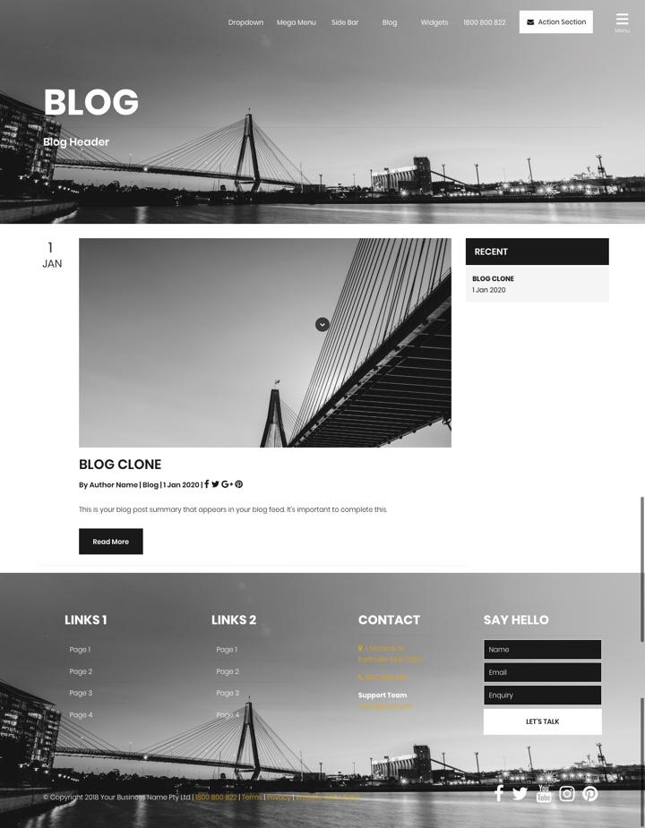 Cooper Blog
