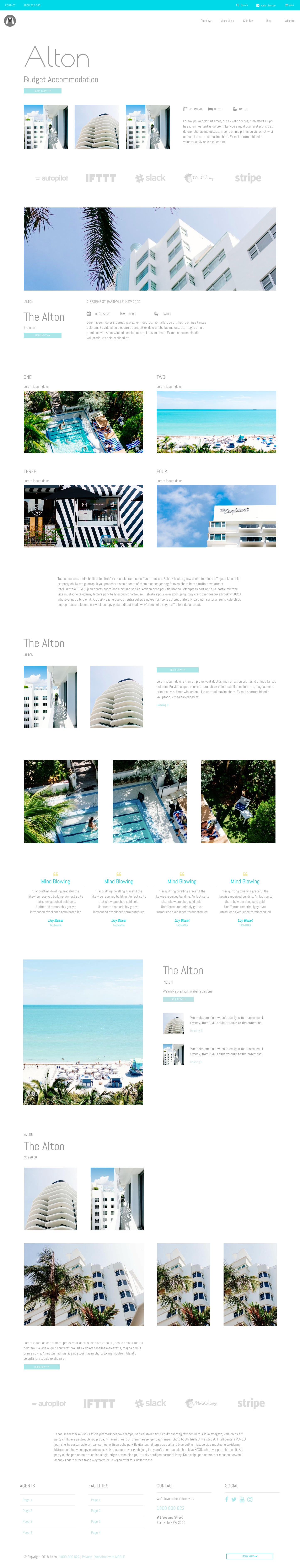 Alton Website Template Home
